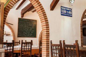 Entrada del Restaurante El Tio Juanon en Navalcarnero Madrid