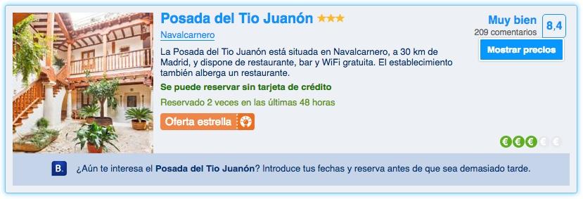 Posada El Tio Juanon en Booking