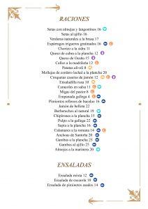 Raciones y Ensaladas